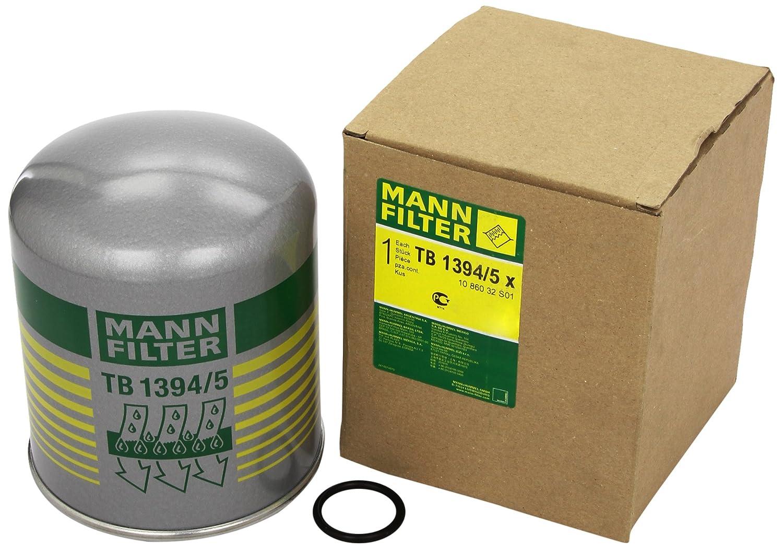 Mann Filter TB 1394/5 x Cartucho del Secador de Aire, Sistema de Aire Comprimido MANN & HUMMEL GMBH