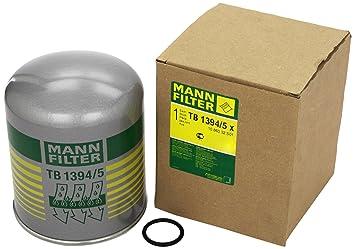 Mann Filter TB 1394/5 x Cartucho del Secador de Aire, Sistema de Aire Comprimido: Amazon.es: Coche y moto