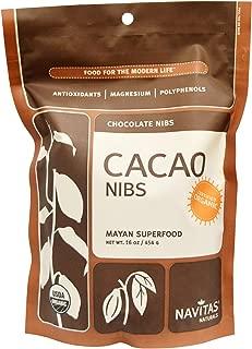 product image for Navitas Organics Organic, Cacao Nibs, 16 oz (454 g)