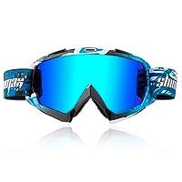 Shinmax Occhiali da Ciclismo Motocross Occhiali da sci Antivento Occhiali