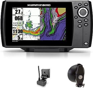 Humminbird Helix 7 Sonar GPS Echolot Mar tarjeta Combo para plotter Portabel Basic: Amazon.es: Deportes y aire libre