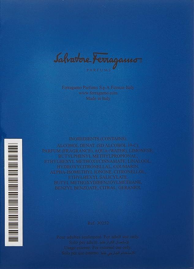 Salvatore Ferragamo Acqua Essenziale Blu Eau de Toilette Vaporizador 100 ml: Amazon.es: Belleza