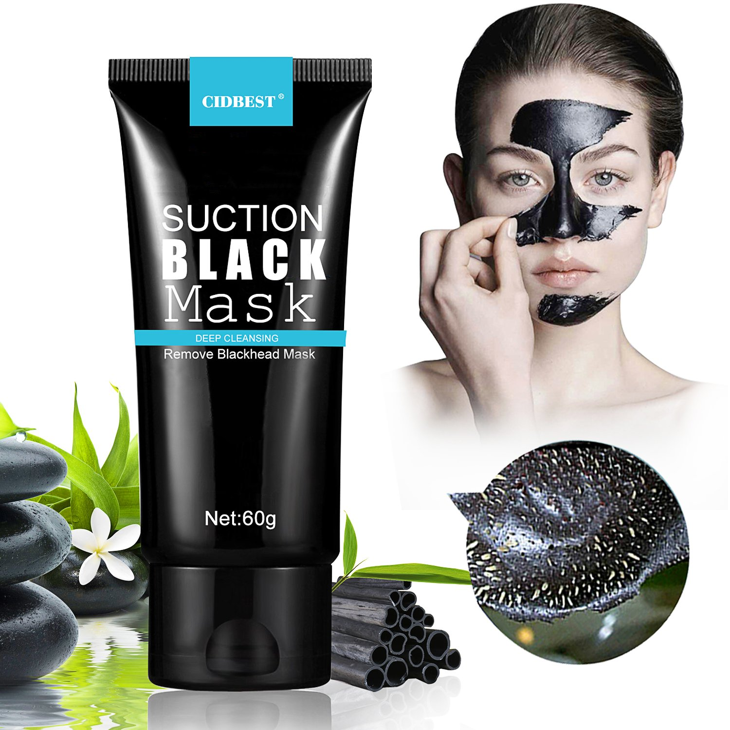 point noir masque black head masque peel off masque blackhead remover ebay. Black Bedroom Furniture Sets. Home Design Ideas