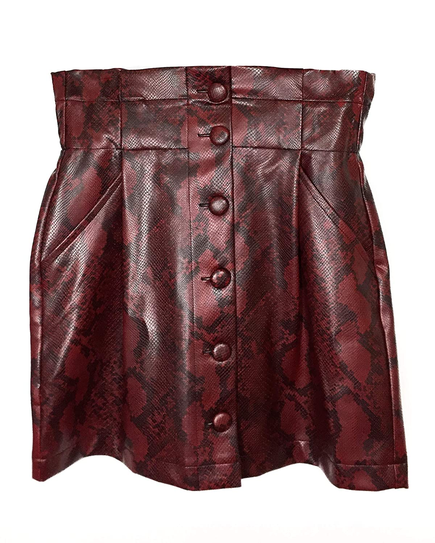 a1dcfaffaf Red Leather Mini Skirt Zara – DACC