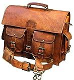 classydesigns Umhängetasche aus echtem Büffel-Leder im Vintage Look