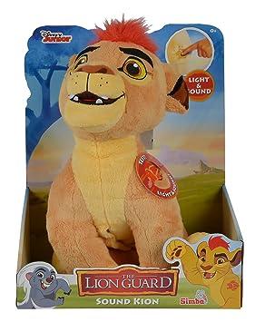 La Guardia del León - Peluche con función Kion (Simba Dickie 9316056)