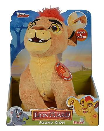Simba 109316056 Die Garde Der Löwen Action Plüsch Kion