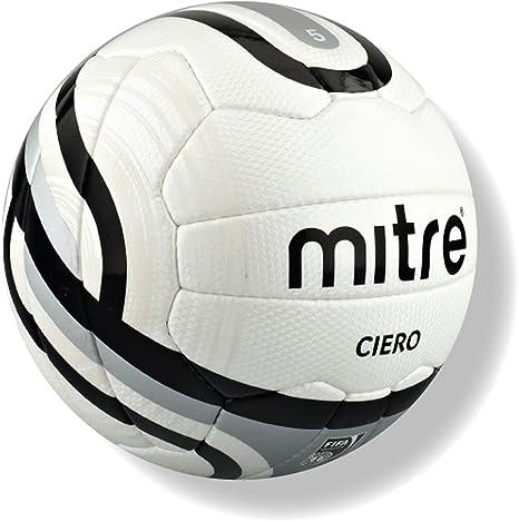 Mitre Ciero - Balón de fútbol, color blanco, inspeccionado por la ...