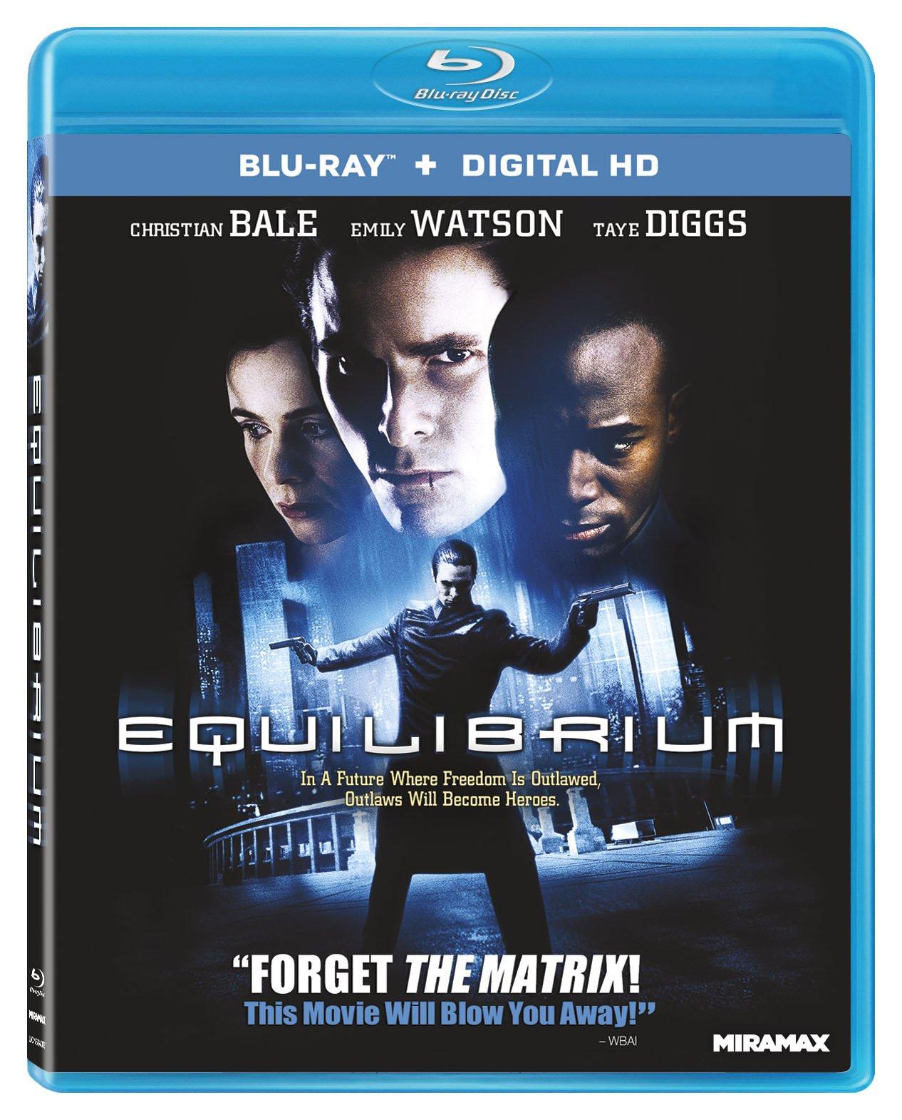 Blu-ray : Equilibrium (Blu-ray)