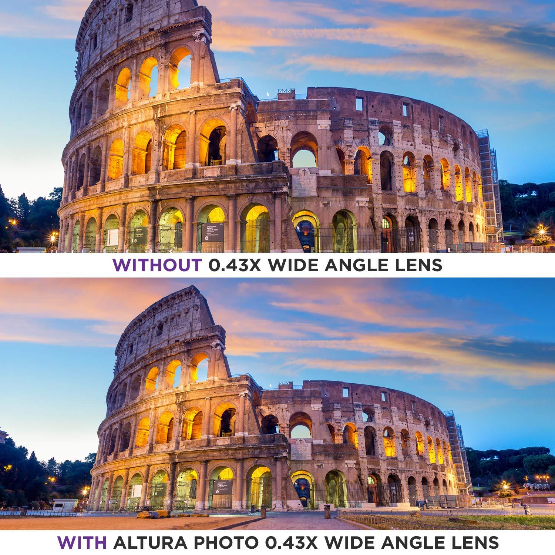 Altura Photo Kz0009 Hd Wide Angle Lens With Macro Amazonin