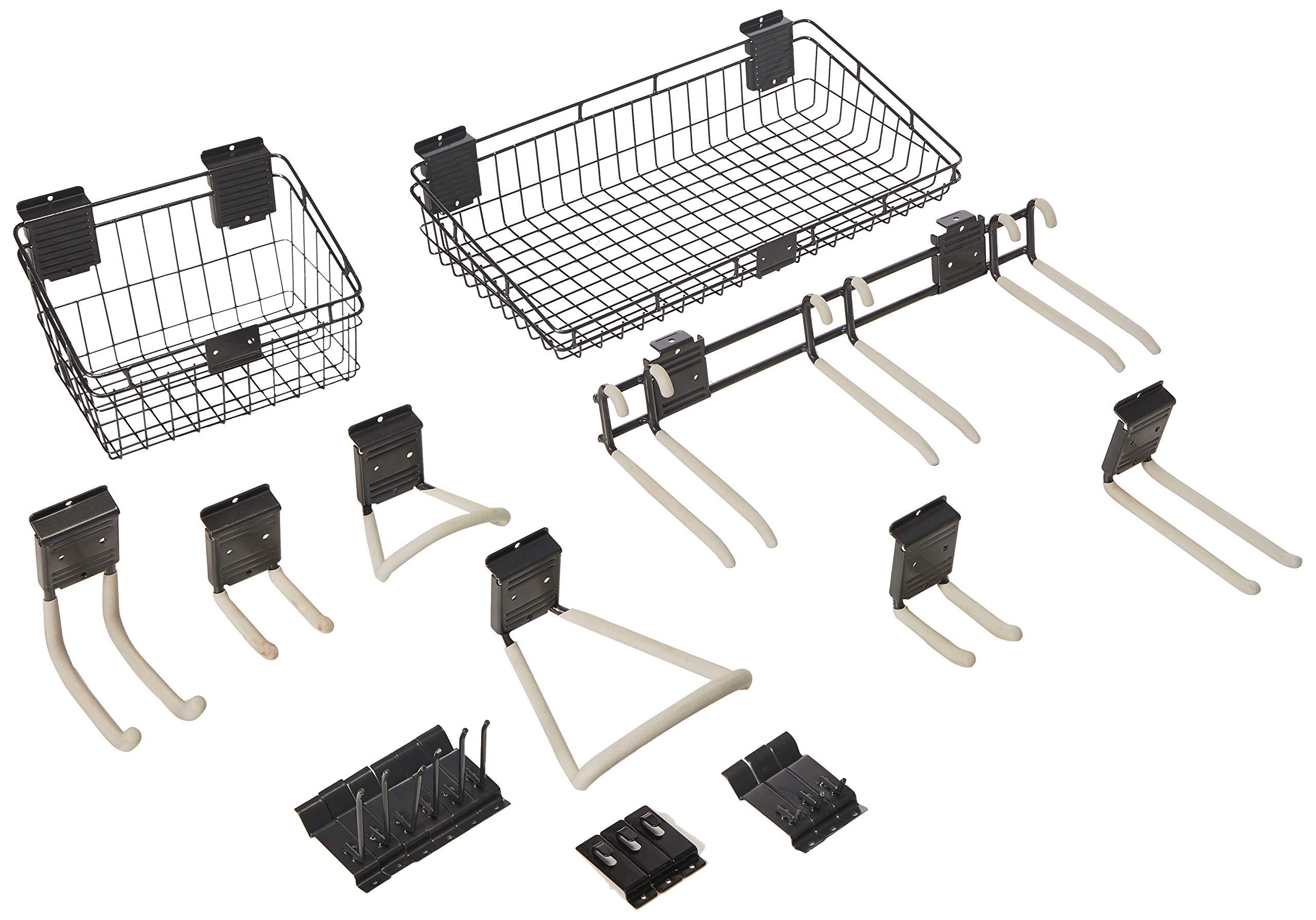 Suncast HSBAK Handiwall Basic Slat Wall Accessory Kit by Suncast