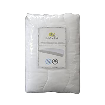 Amazon Com Kidicomfort Quilted Cotton Waterproof Fitted Baby