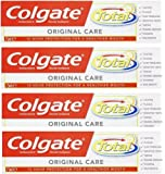 Colgate Total Original Toothpaste, 75ml (Pack of 4)