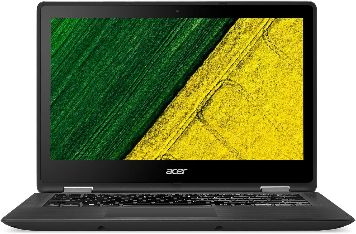 Acer SP5135157TPREF Laptop, Intel Core: i5-7200U, 2.5 GHz, 256 GB, Intel HD Graphics 620, Windows 10 Home, Black, 13.3in (Renewed)