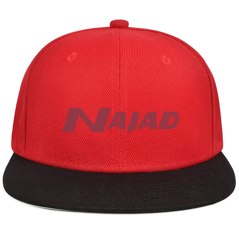 Snapback Flatbrim Adjustable Hip Hop Cap YYWCJ Trucker Hats NAJAD-Logo