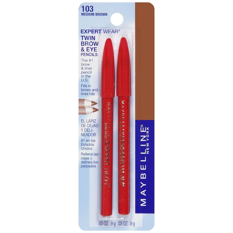 Amazon Maybelline Expert Eyes Twin Brow Eye Pencils Medium