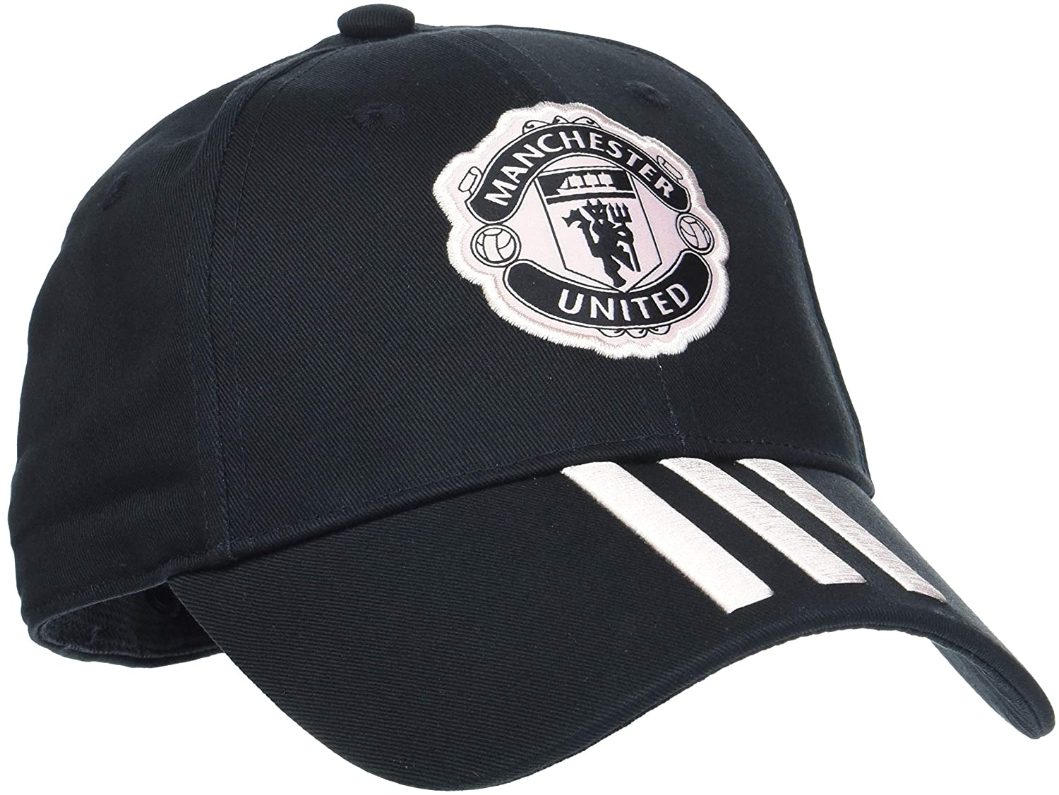 772d8946a adidas Manchester United FC 3 Stripes Cap, Unisex, CY5585: Amazon.co ...
