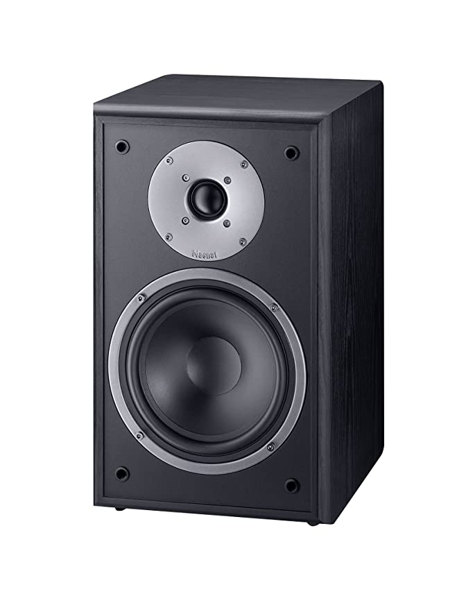 Magnat Monitor Supreme 202 - Altavoces de estantería (Hi-Fi, 93 dB, 100 W RMS), Color Negro
