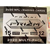 $499 » 2020 Panini Prizm Football Cello Box - Factory Sealed - 12 Multi Packs Per Box - 3 Exclusive Red, White, and Blue Prizms Each Pack on Average