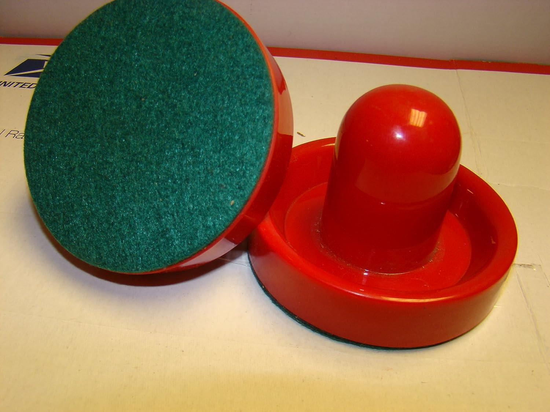 Air Hockey Sombrero Style STRIKERS Hockey Power Pushers (Red) Sportcraft