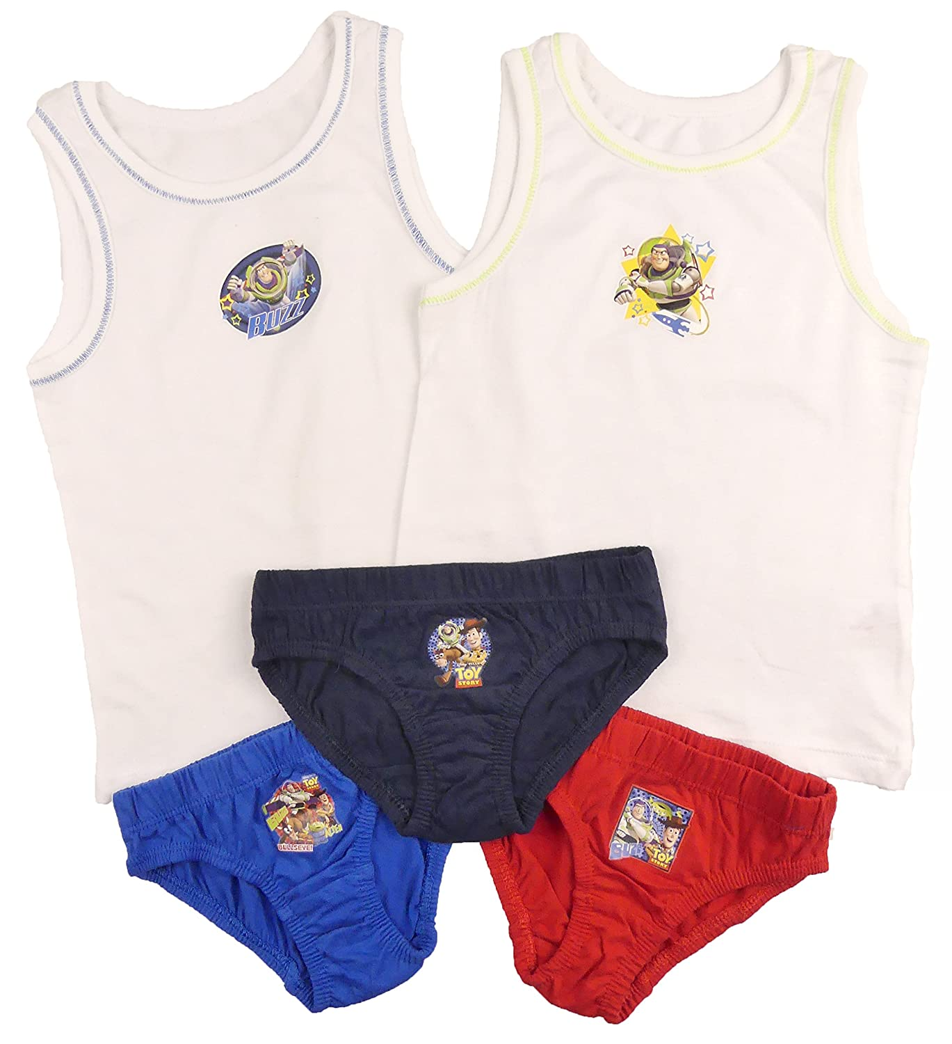 Boys Toy Story Pants and Vests Sets