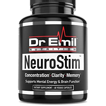 Amazon Com Dr Emil Neurostim Nootropic Brain Supplement For