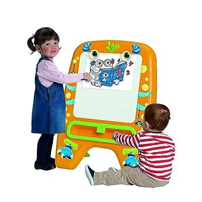Chicos - Mi Primera Pizarra Happy Monster (Fábrica de Juguetes 52194): Juguetes y juegos