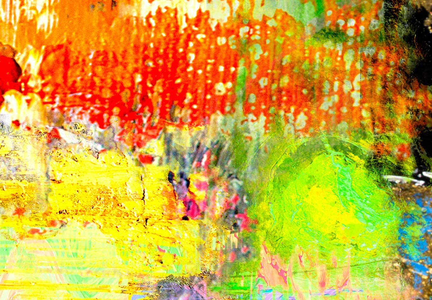 murando Impression sur Toile intissee 120x40 cm Tableau Tableaux Decoration Murale Photo Image Artistique Photographie Graphique 1 Partie Abstrait a-A-0386-b-a