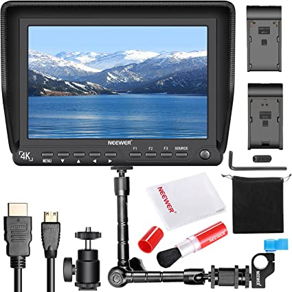 Neewer Nw S7 7 Zoll 4k Hd Kamera Feld Monitor Set Kamera