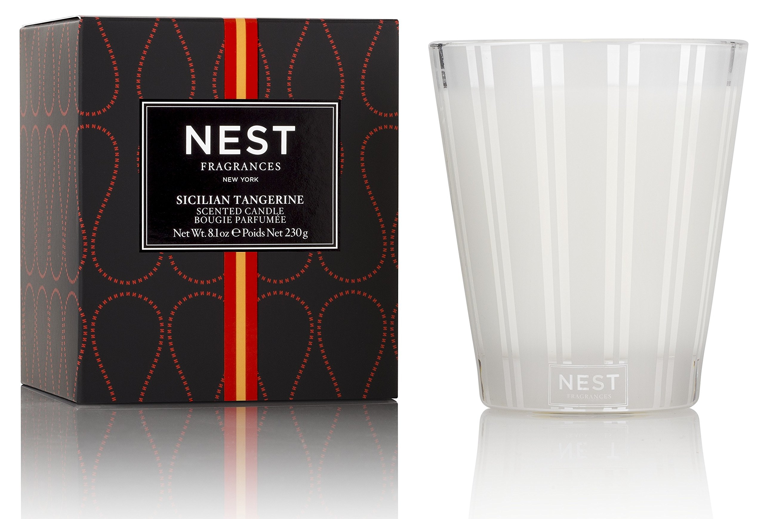 NEST Fragrances NEST01ST002 Classic Candle- Sicilian Tangerine, 8.1 oz