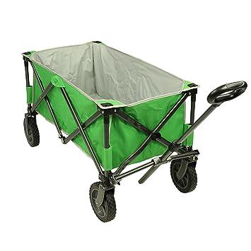 Fridani Carro de Mano Verde BTG XL Carro de Playa 75 kg Carro Plegable Ruedas Confort Mango: Amazon.es: Deportes y aire libre