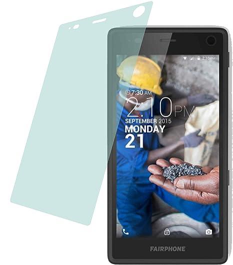 2x ANTIREFLEX matt Schutzfolie für Fairphone 2 (2015) Premium Displayschutzfolie Bildschirmschutzfolie Schutzhülle Displaysch