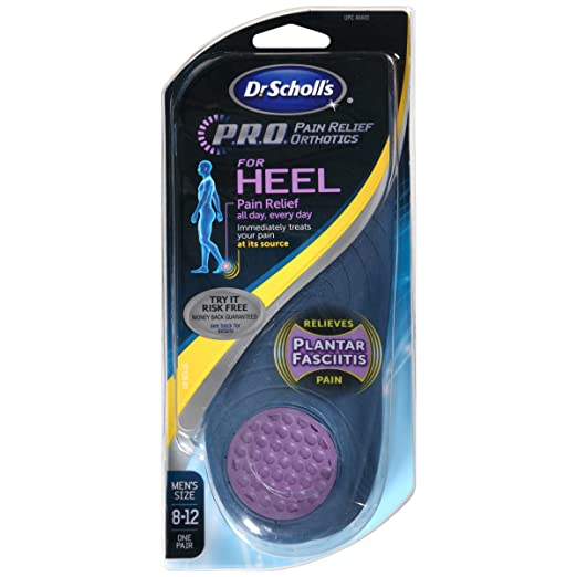 5. P.R.O. Pain Relief Orthotics for Heel