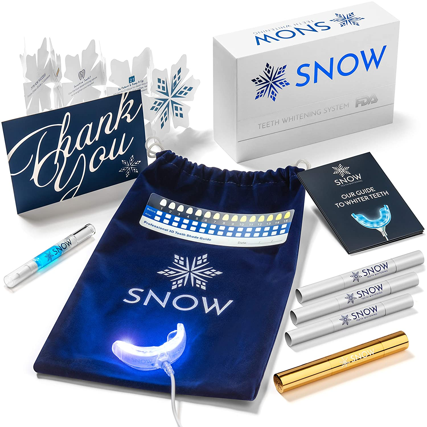 BRAND NEW Snow Teeth Whitening At-Home All-in-One Kit