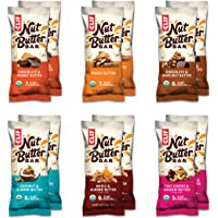 Clif Bar Nut Butter Bar - Organic Snack Bars - Variety Pack (1.76 Ounce Protein Snack Bars, 12 Count) (Packaging May Vary)