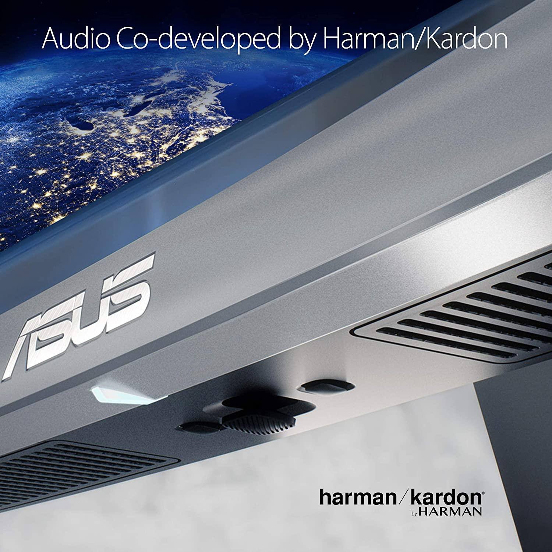 Asus Designo Curved Mx34vq 34 Uqhd 100hz Dp Hdmi Eye Monitor Mx27aq 2k 27 Wqhd Ips Srgb Audio Bang Olufsen Tuv Care With Adaptive Sync Computers Accessories