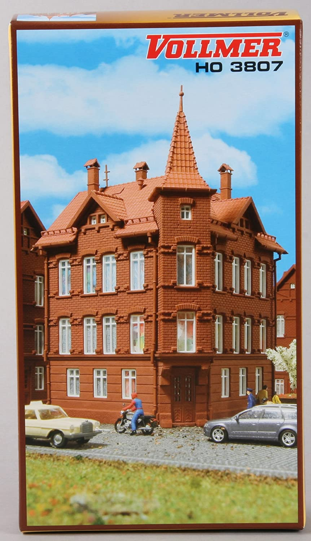 H0 Eisenbahner-Eckwohnhaus VOLLMER 3807