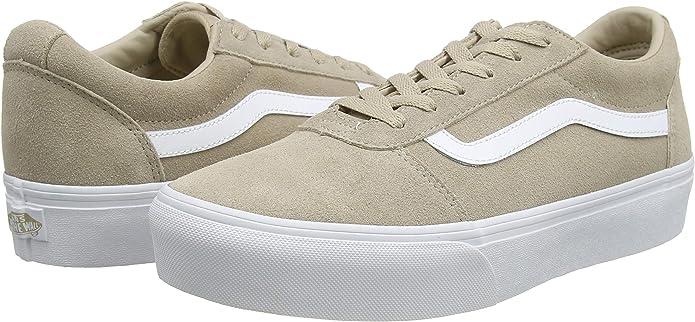 Vans Ward Platform Suede, Baskets Femme