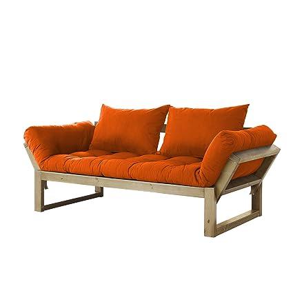 Well-known Amazon.com: Fresh Futon Edge Convertible Futon Sofa/Bed, Natural  AE82