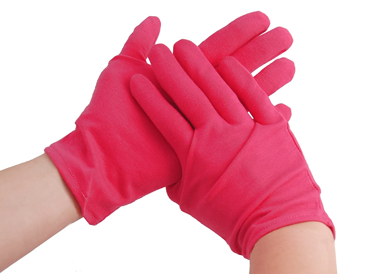 Creative Max Finest Premium Cotton Moisturising Gloves (White) Creative Max Limited