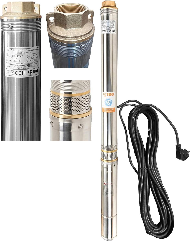IBO 3,5SDM 3/11 Tiefbrunnenpumpe - IBO Brunnenpumpe 3,5