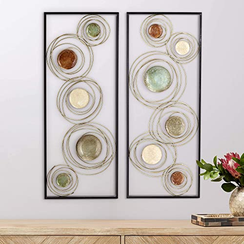 Newhill Designs Kronos 2-Piece Circle Wall Art