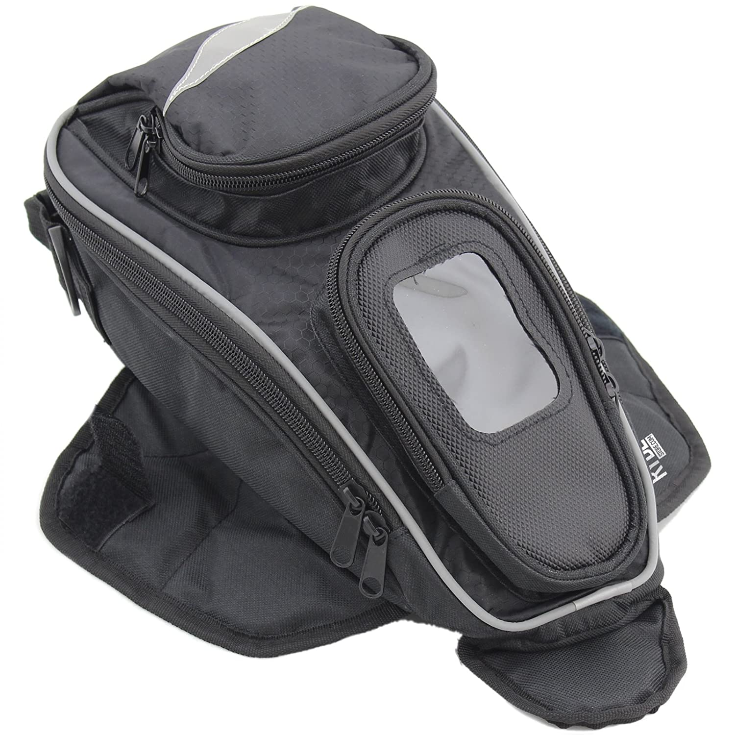 Ryde Aero Magnetic Motorcycle Tank Bag with GPS/Phone Pouch