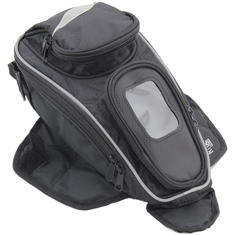 Ryde Borsa da serbatoio per motocicletta Aero Magnetic con tasca per GPS/cellulare