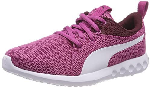 808f5f1cba7 Puma Girl s Magenta Haze-Fig White Sneakers-3 UK India (35.5 EU ...