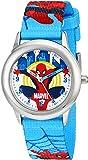 Marvel Kids' Ultimate Spider-Man W001543 Analog Display Analog Quartz Blue Watch