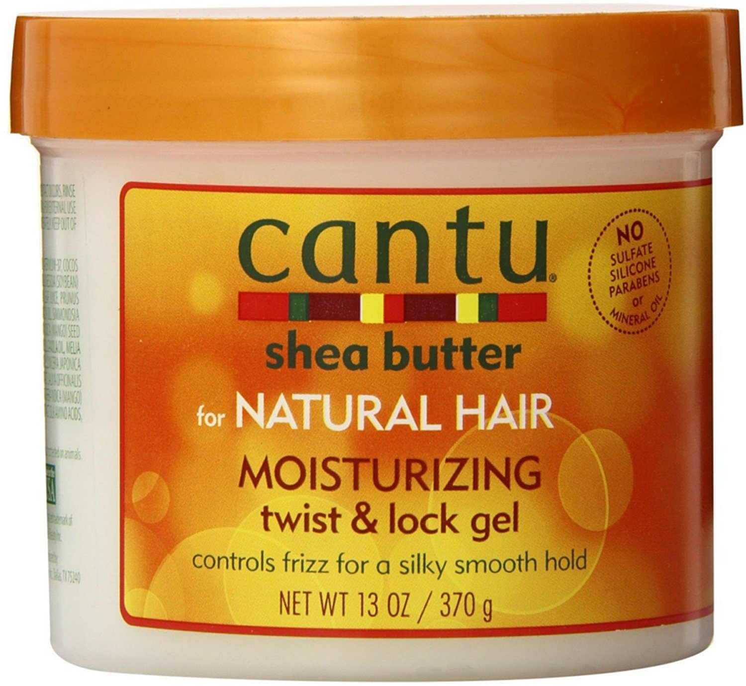 Amazon.com : Cantu Shea Butter For Natural Hair Moisturizing Twist & Lock Gel, 13 ounce (Pack of 5) : Beauty