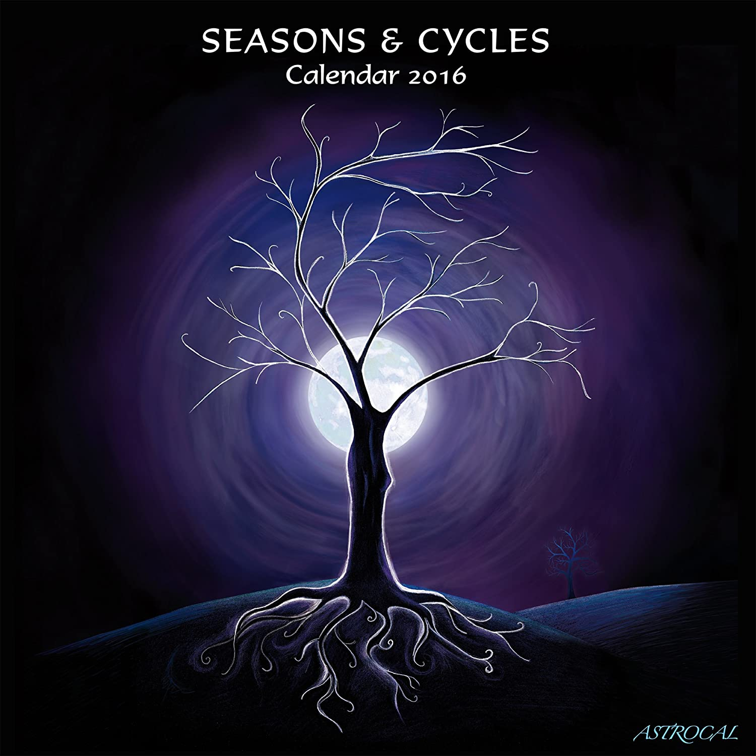 Seasons Cycles Moon Calendar 2016 Amazon Office Products