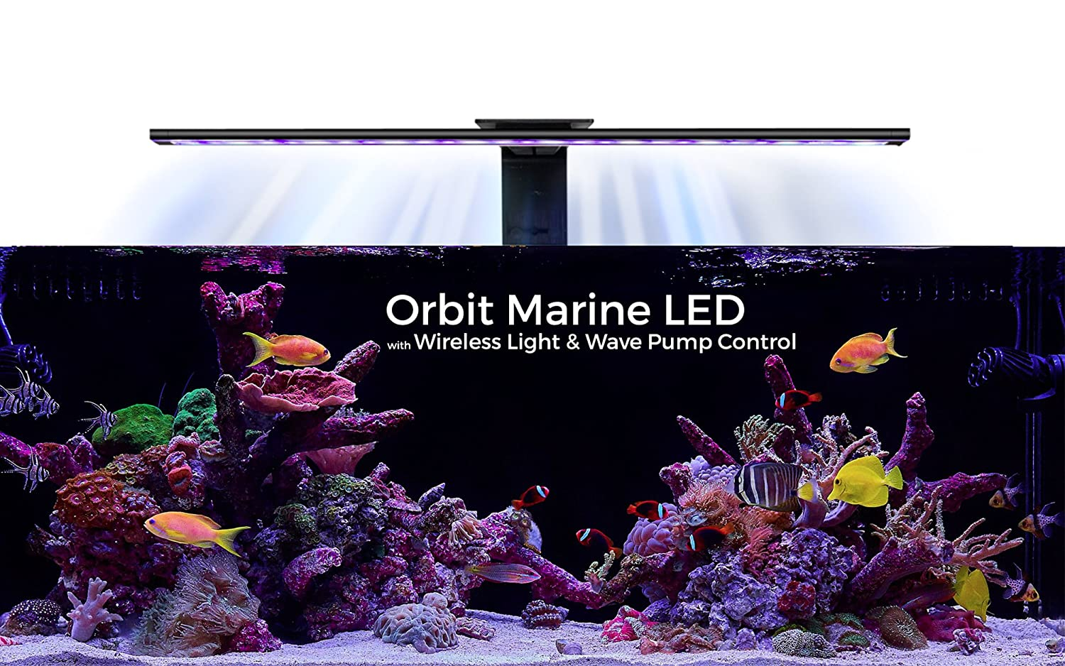 amazon com current usa orbit marine aquarium led light 48 to 60