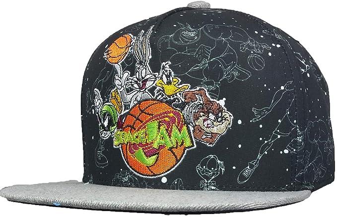 913176115c8 Amazon.com  gameusa Spacejam Men s Cap (Black)  Clothing
